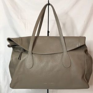 Cuir Rose made in Italy beige leather purse